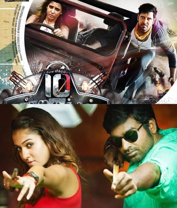 Vikram's 10 Endrathukulla to clash with Vijay Sethupathi – Nayanthara starrer Naanum Rowdy Dhaan!