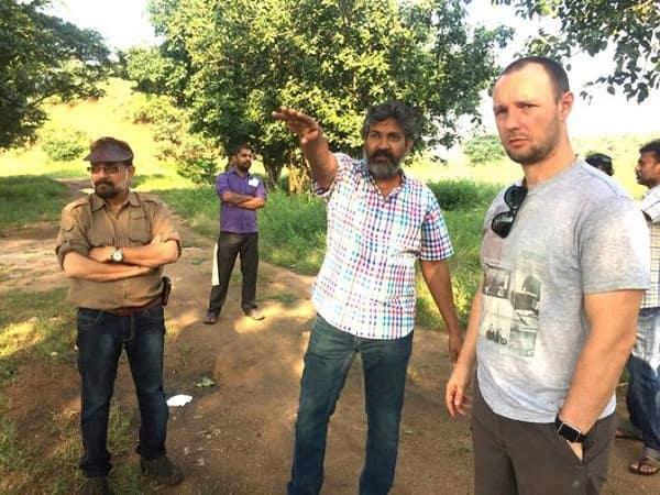 SS Rajamouli kick starts the shooting of Baahubali 2 – view pics!