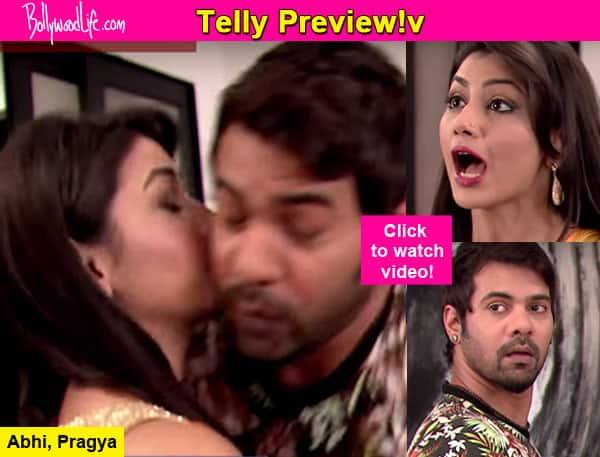 Kumkum Bhagya: Pragya and Abhi kiss while fighting - watch video! -  Bollywood News & Gossip, Movie Review