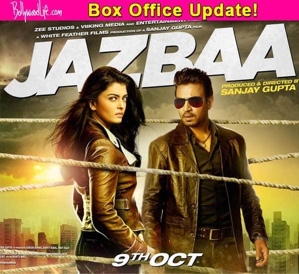 Jazbaa box office collection: The Aishwarya Rai Bachchan film earns Rs. 1.69 crore on first Tuesday!