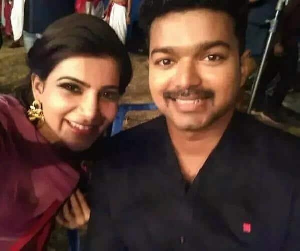 Samantha's epic selfie with Vijay goes viral! - Bollywood