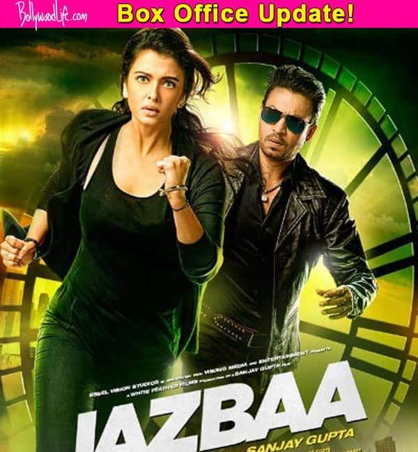 Jazbaa box office collection: The Irrfan Khan-Aishwarya Rai Bachchan's film earns Rs. 20.41 crore in 6 days!