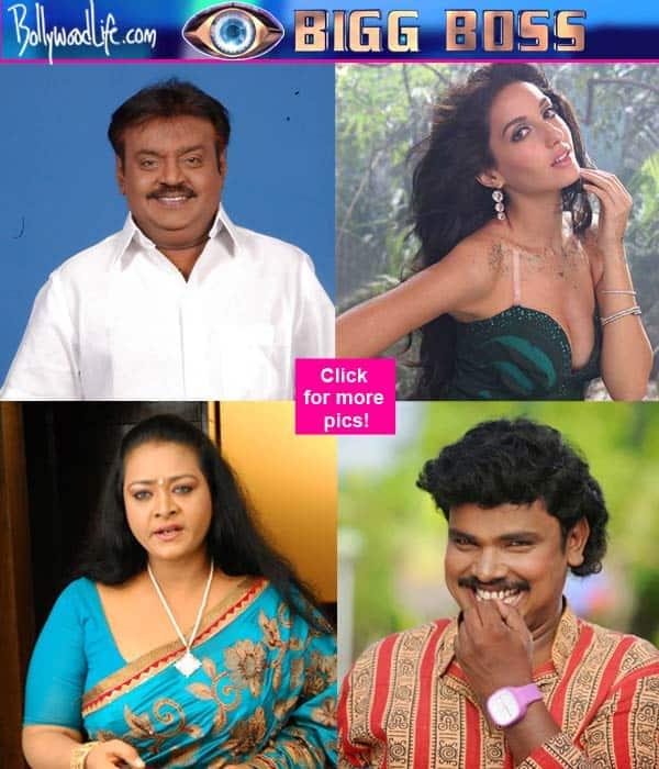 Namitha, Ram Gopal Varma, Nora Fatehi, Vijayakanth – 9 South Indian celebs who deserve to be in Bigg Boss!