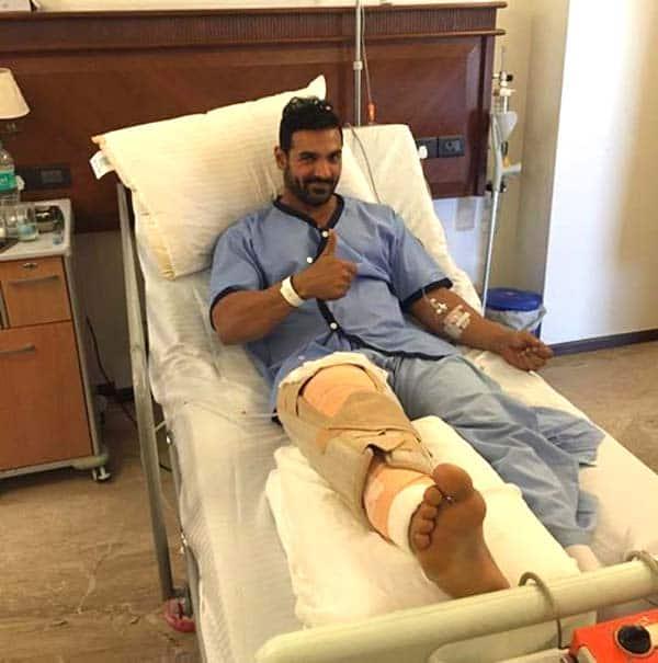 John Abraham's injury causes disturbance in Dishoom schedule