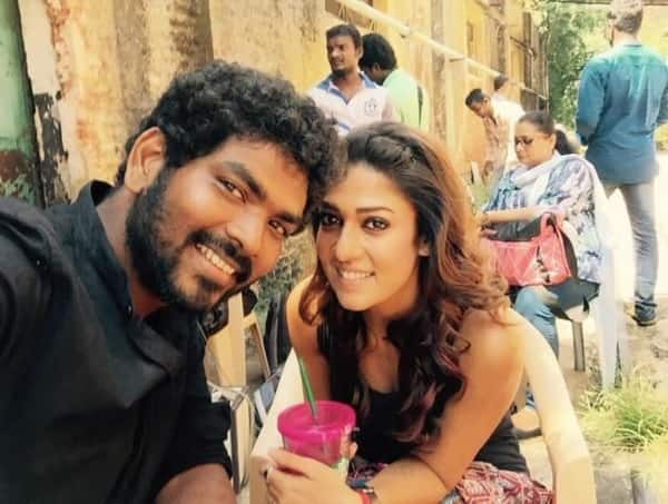 Why was Nayanthara absent from Naanum Rowdy Dhaan press meet?