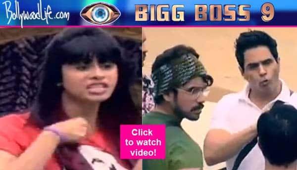 Bigg Boss 9: Aman Verma and Kishwer Merchantt get into a fight over Suyyash Rai – watch video!