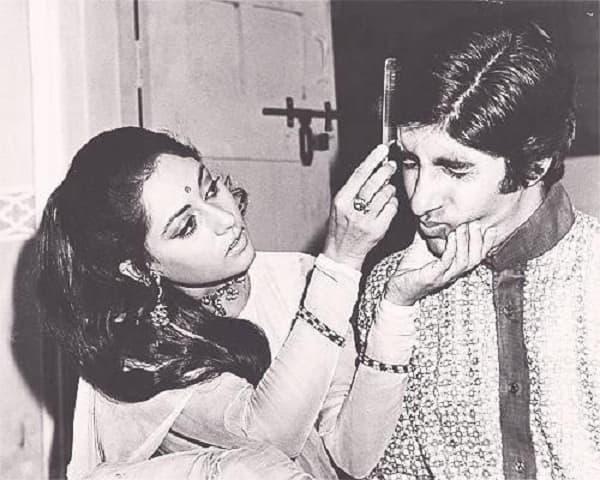 When Amitabh Bachchan didn't want to get his hair done by wife Jaya Bachchan…