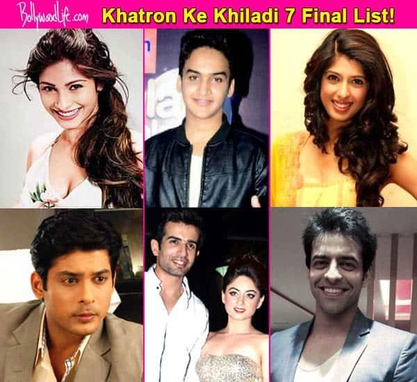 Khatron Ke Khiladi 7 final contestant list: Sidharth Shukla, Aishwarya Sakhuja, Jay Bhanushali-Mahhi Vij, Himmanshoo A Malhotra, Tanishaa Mukerji, Faisal Khan a part of the show!