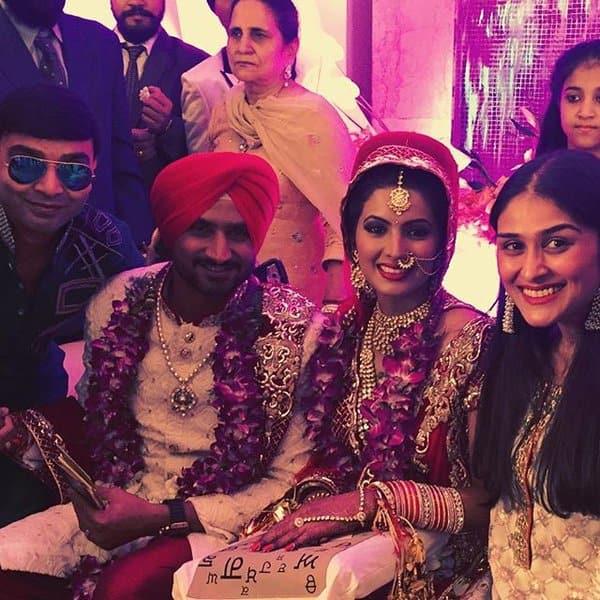 Harbhajan Singh and Geeta Basra wedding: 4 held for manhandling the media!