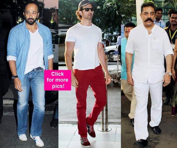 Hrithik Roshan, Rohit Shetty, Kamal Haasan, Dia Mirza add swag to airport style – view HQ pics!