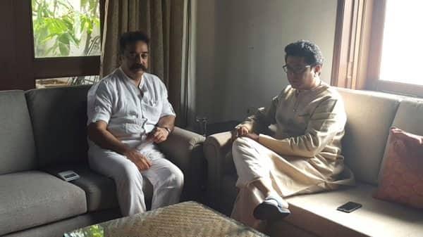 Kamal Haasan denies any political agenda behind his meeting with Raj Thackeray