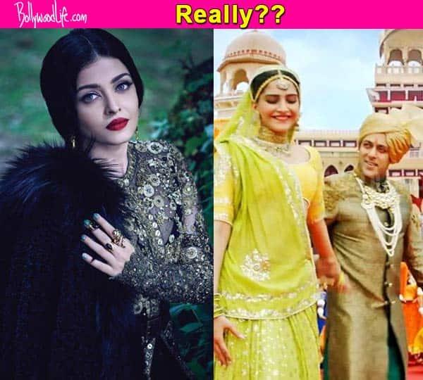 Aishwarya Rai Bachchan a fan of Salman Khan's Prem Ratan Dhan Payo title track?
