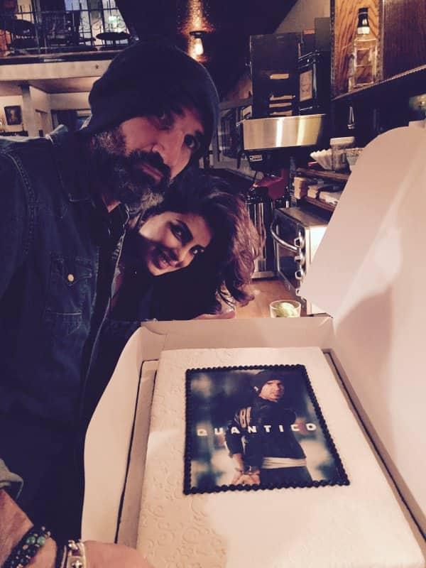Priyanka Chopra and her Quantico mates bid adieu to their executive producer Stephen Kay