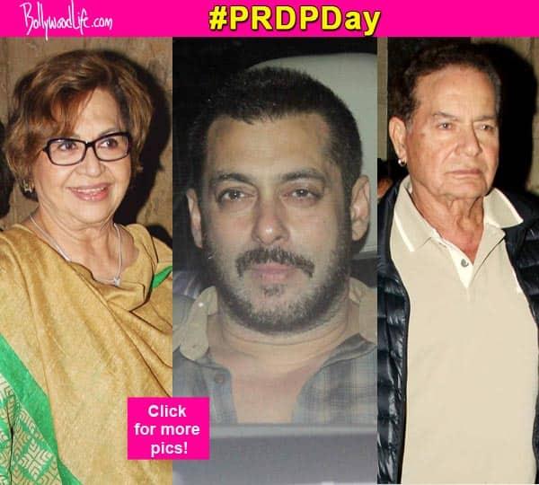 Prem Ratan Dhan Payo screening: Salman Khan takes his family on a movie date – view HQ pics!