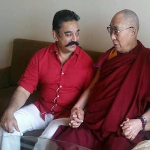 Kamal Haasan bonds with Dalai Lama!