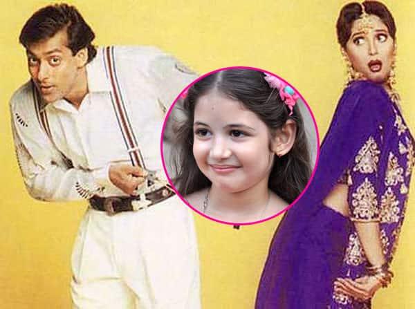 Harshaali Malhotra pulls off a Madhuri Dixit just for Salman Khan – watch video!