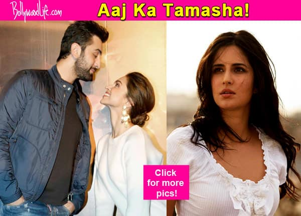 Check out how Katrina Kaif REACTED on Deepika Padukone's statement that Ranbir Kapoor can only marry with her permission!