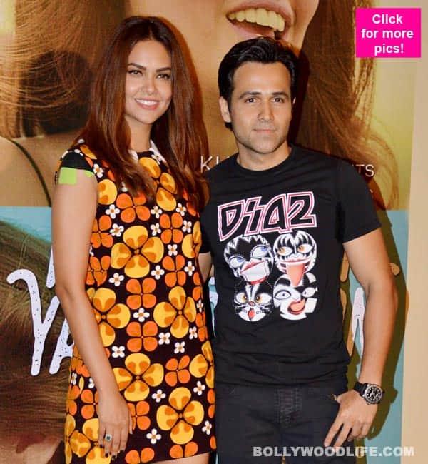 Emraan Hashmi and Esha Gupta SIZZLE as they launch their romantic single Main Rahoon Ya Na Rahoon – view HQ pics!