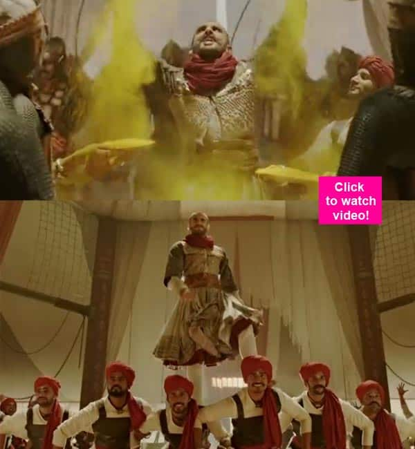 Bajirao Mastani song Malhari: Ranveer Singh channels his eccentricity and energy into giving us a KICKASS victory anthem- watchvideo!