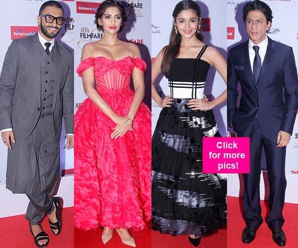 Filmfare Glamour and Style Awards 2015: Shah Rukh Khan, Alia Bhatt, Ranveer Singh, Sonam Kapoor and Varun Dhawan ROCK the red carpet- view HQ pics!