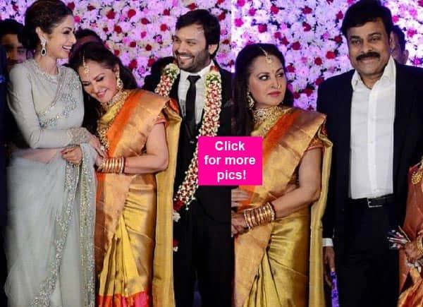 Chiranjeevi, Sridevi, Boney Kapoor dazzle at Jayaprada's son's wedding ceremony – view pics!
