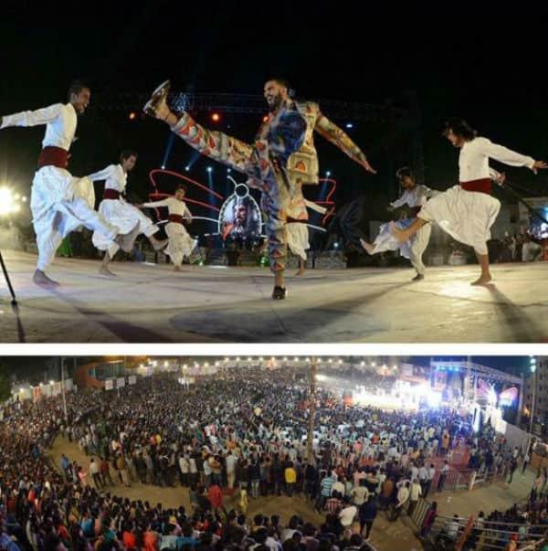 Ranveer Singh burns the stage as Peshwa Bajirao in Nagpur – watch video!