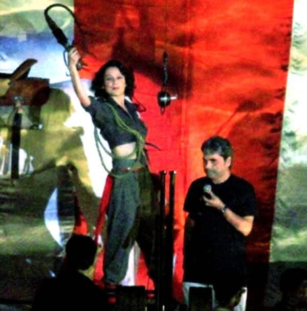 LEAKED: Kangana Ranaut's action avatar from Vishal Bharadwaj's Rangoon!