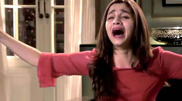 What made Alia Bhatt cry?