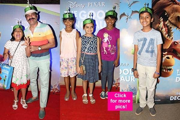 Manav Gohil, Shweta Kawatra, Ruhanika Dhawan, Vikas Bhalla watch The Good Dinosaur – view HQ pics!