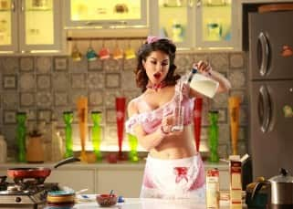 Super Girl from China song: Sunny Leone gives bath, cooks and saves the day -watch video!