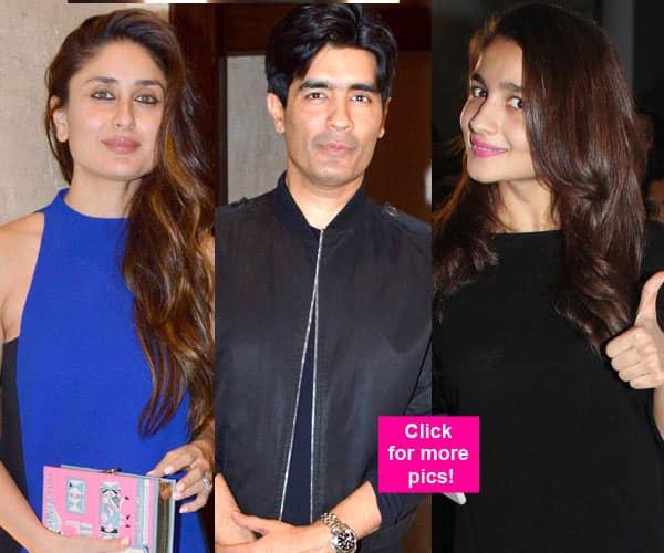 Kareena Kapoor Khan, Alia Bhatt and Shilpa Shetty looked their STYLISH best at Manish Malhotra's birthday bash – view HQ pics!