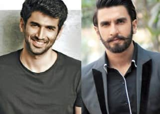 Aditya Roy Kapur REACTS to Ranveer Singh's claim of stealing his girlfriend