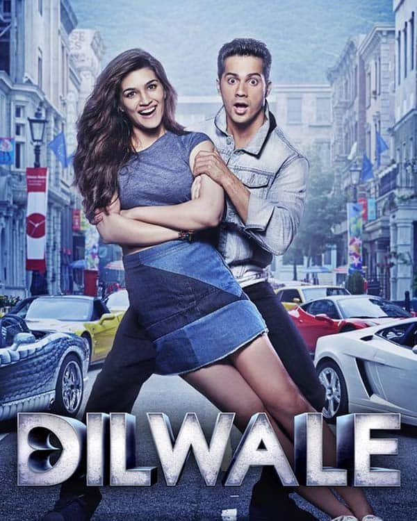 Varun Dhawan and Kriti Sanon show their playful side in this new Dilwale poster! - TV Shows