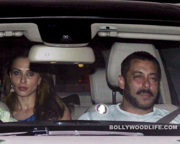 Salman Khan's alleged ladylove Iulia Vantur visited Galaxy to meet the actor last evening?