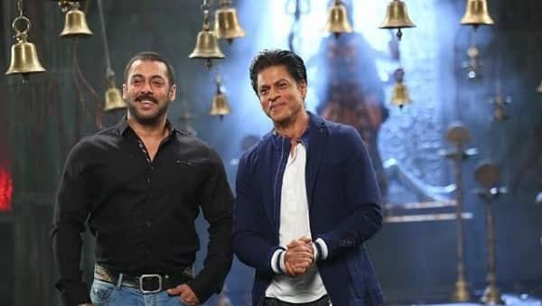 What does Shah Rukh Khan have to say about shooting with Salman Khan after a long time?