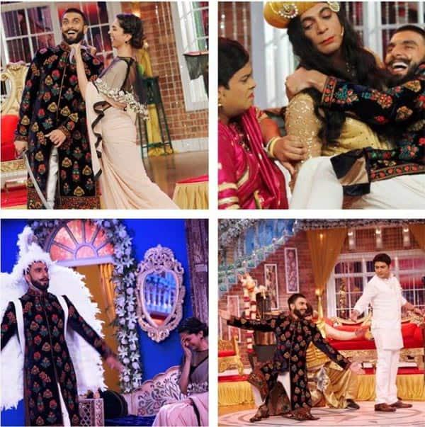 Comedy Nights With Kapil: Bajirao Ranveer Singh and Mastani Deepika Padukone's funny antics will make you go ROTFL