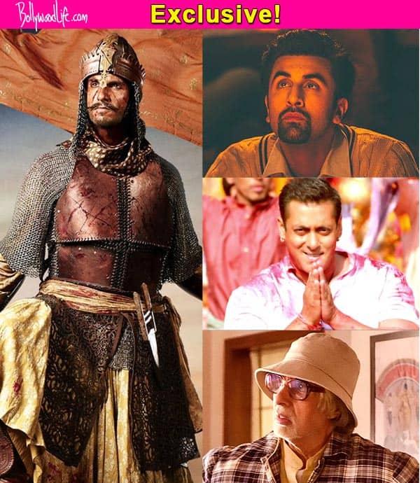 Will Ranveer Singh edge out Ranbir Kapoor, Salman Khan and Amitabh Bachchan at the award season?