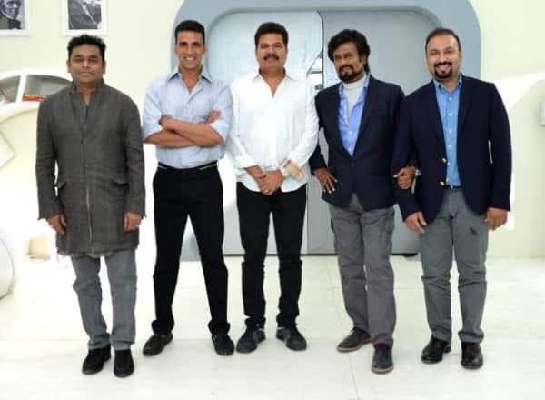 Rajinikanth's Enthiran 2 is now called 2.O!