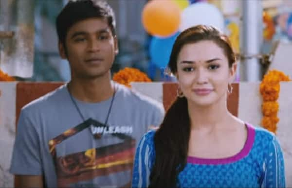 Thangamagan song Tak Bak: Dhanush and Amy Jackson's playful flirting lights up this jazzy number – watch video!