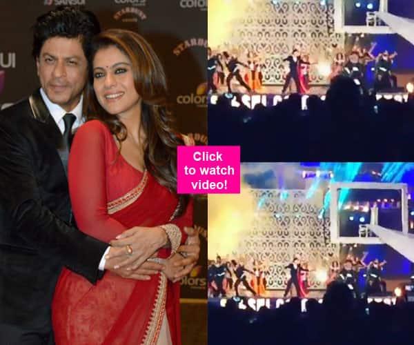 Check out Shah Rukh Khan-Kajol's scintillating performance on Gerua at Stardust Awards 2015!