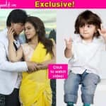 Shah Rukh Khan shows us how AbRam reacted when he saw Dilwale – watch video!