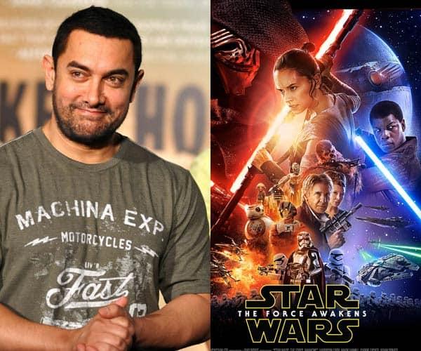 Aamir Khan is a HUGE fan of Star Wars!