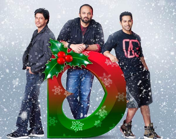 Shah Rukh Khan, Varun Dhawan, Rohit Shetty's Christmas surprise for their fans is here –view pics!