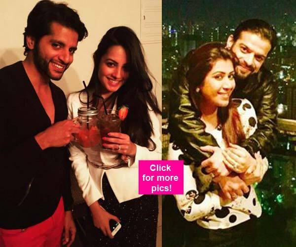 Karan Patel, Anita Hassanandani and Karanvir Bohra celebrate Christmas together – view pics!!