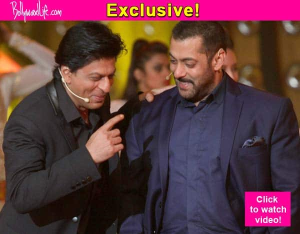 Here is Shah Rukh Khan's HEART FELT birthday wish for Salman Khan – watch video!