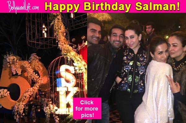 Salman Khan throws a grand birthday bash as he turns 50 – view inside pics!