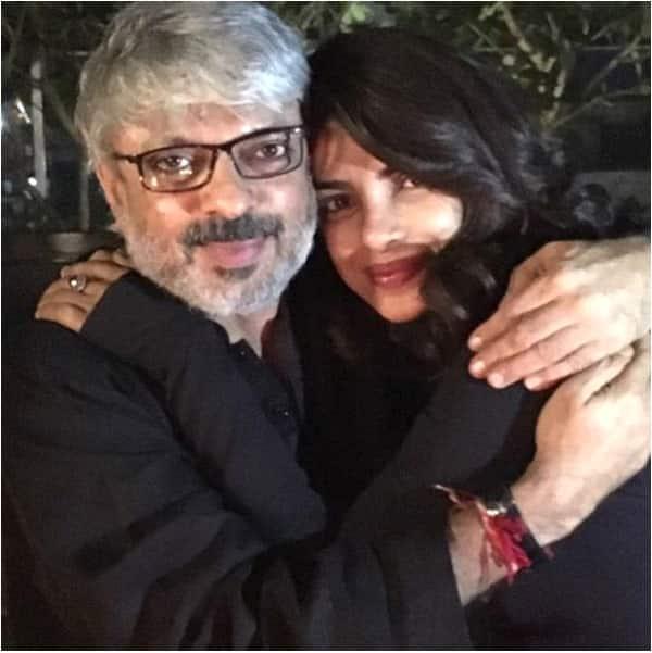 Priyanka Chopra shares a warm hug with Sanjay Leela Bhansali after Bajirao Mastani's success – view pic!