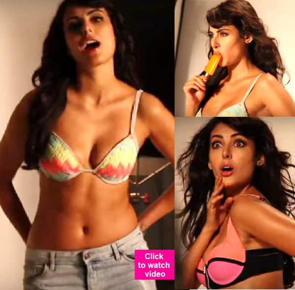 Bigg Boss 9 contestant Mandana Karimi's HOT photoshoot for Kyaa Kool Hain Hum 3 will turn on the heat thisDecember!