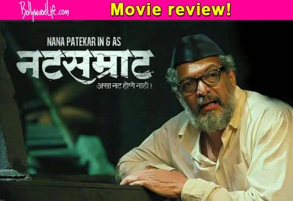 Natsamrat Movie Review Nana Patekars Award Winning
