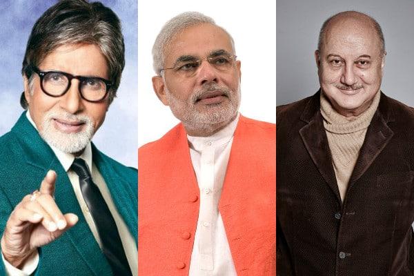 Amitabh Bachchan or Anupam Kher to play Narendra Modi onscreen?